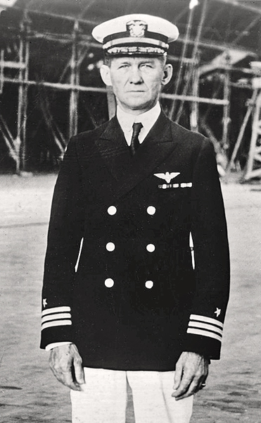 Frank McCRARY (First LTA Pilot), CAPT - Please describe who or what influenced your decision to join the Navy?