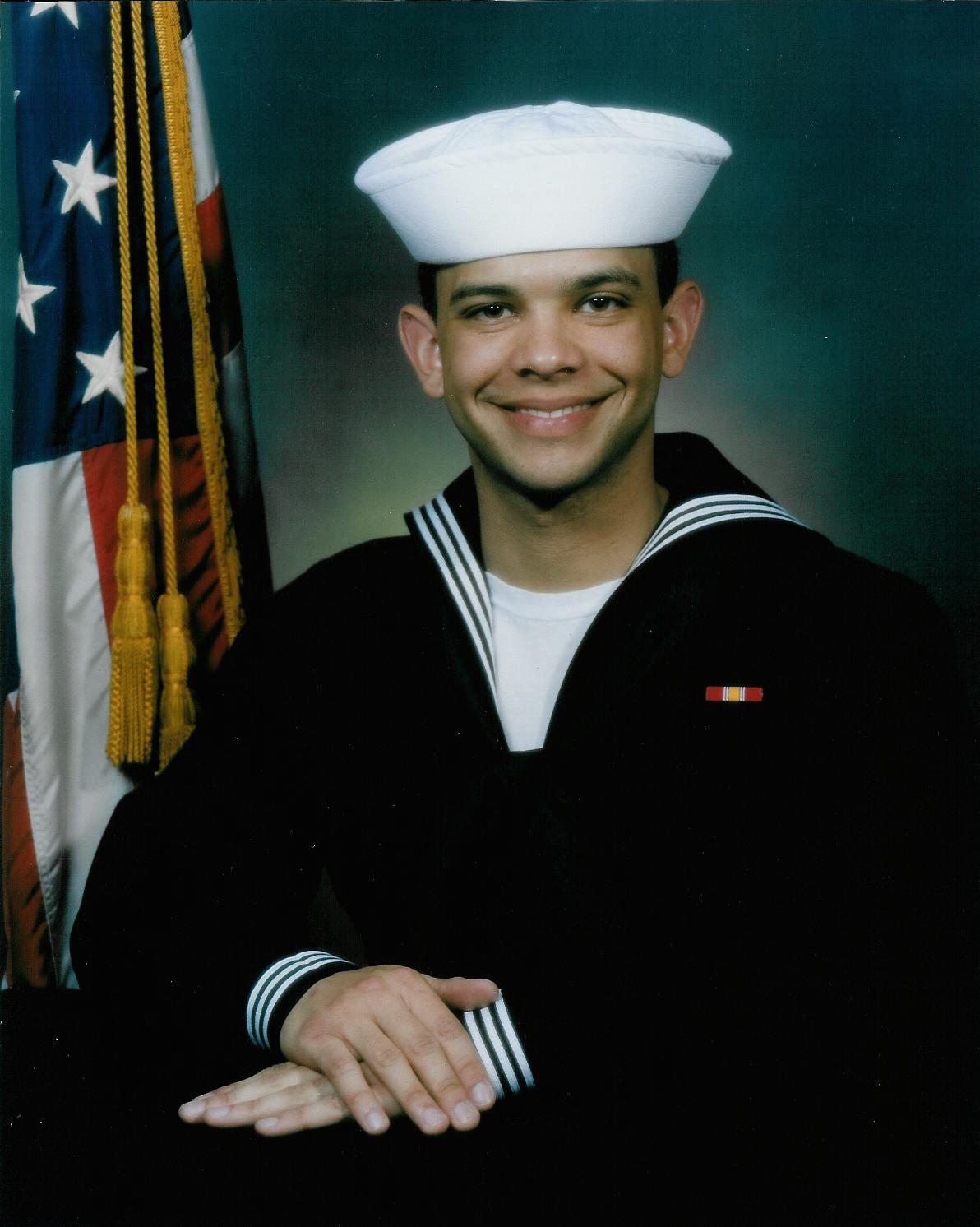 Chip LeDuff, LT - Please describe who or what influenced your decision to join the Navy?