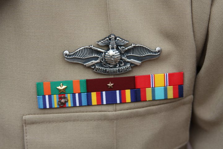 Chip LeDuff, LT - Of all the medals, awards, formal presentations and qualification badges you received, or any other memorabilia, please describe those which are the most meaningful to you and why?