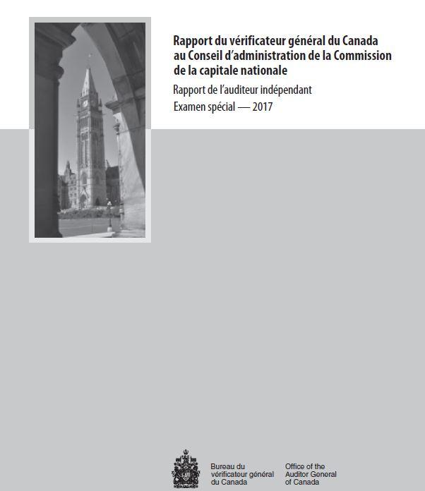 Rapport du vérificateur général du Canada 2017