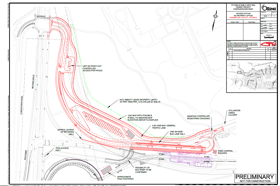 Stage 2 LRT - Moodie Station Federal Land Use and Concept Design Approval