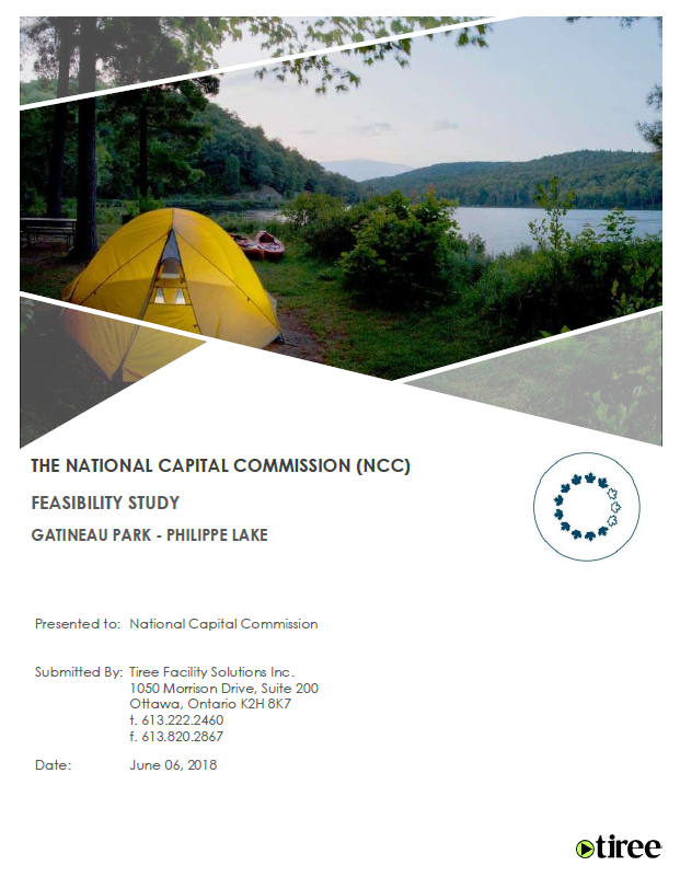 Feasibility Study for Campgrounds at Lac Philippe
