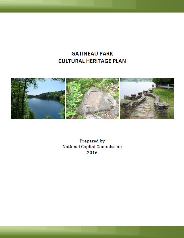 Gatineau Park Cultural Heritage Plan