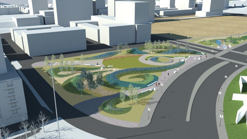 Design Concept – LeBreton Flats Harmony Park