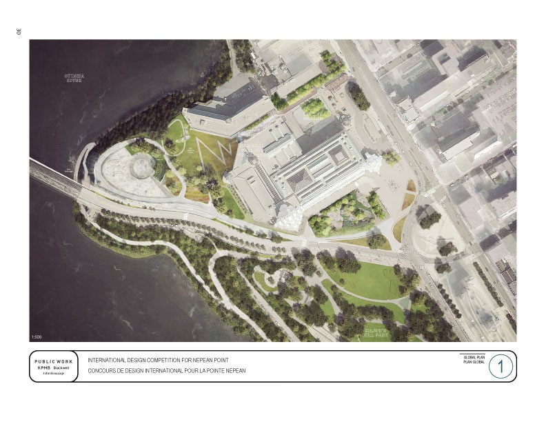 Nepean Point – A Park for Our Nation In Progress - Presentation panels