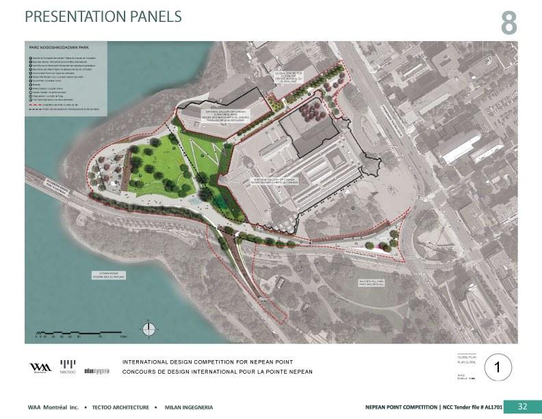 Nogoshkodadwin Park - Presentation panels