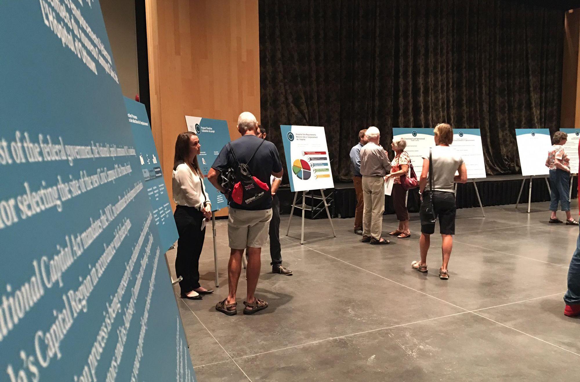 Examen des emplacements potentiels de L'Hôpital d'Ottawa