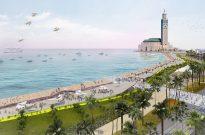 The Sea Promenade of Hassan II Mosque, Casablanca, Morocco - Lemay