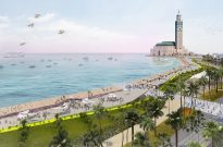 The Sea Promenade of Hassan II Mosque, Casablanca, Morocco - Lemay