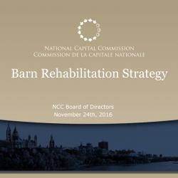 Barn Rehabilitation Strategy