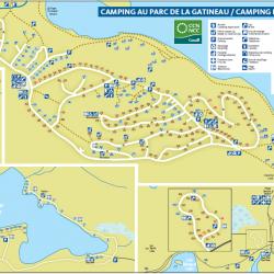 Camping au parc de la Gatineau