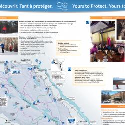 Carte d'hiver du parc de la Gatineau 2014-2015