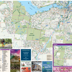 Cycling Map Ottawa-Gatineau and the Outaouais 2017