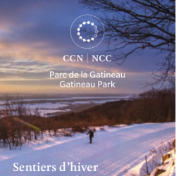 Gatineau Park Winter Trail Map, 2017-2018