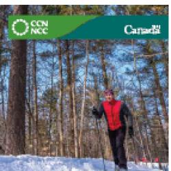 Carte des sentiers d'hiver du parc de la Gatineau, 2016-2017