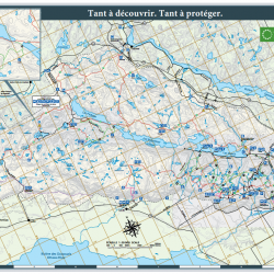 Gatineau Park Summer Trails Map