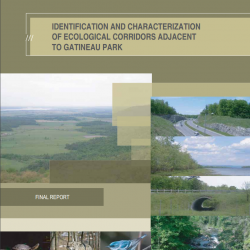 Identification and Characterization of Ecological Corridors Adjacent to Gatineau Park