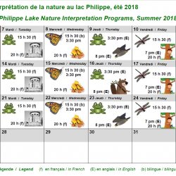 Philippe Lake Nature Interpretation Programs