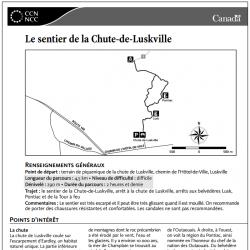 Le sentier de la Chute-de-Luskville