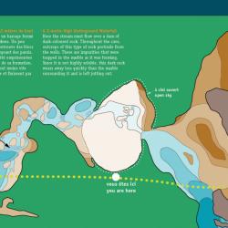 Lusk Cave - Underground Map