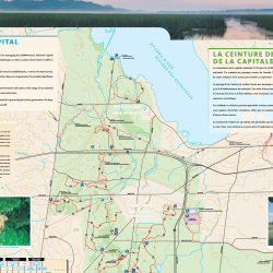 National Capital Greenbelt All Seasons Trail Map