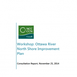 Ottawa River North Shore Improvement Plan - Consultation Report 2014