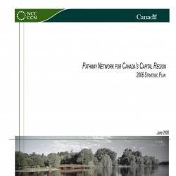 Pathway Network for Canada's Capital Region - Strategic Plan 2006