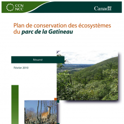 Plan de conservation des écosystèmes du parc de la Gatineau