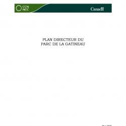 Plan directeur du Parc de la Gatineau