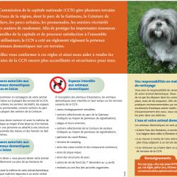 Règlement de la Commission de la capitale nationale sur les animaux