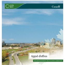 Réaménagement des plaines LeBreton - Appels d'offres