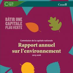 Rapport annuel sur l'environnement 2015-2016