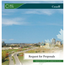 Redevelopment of LeBreton Flats - Request for Proposals