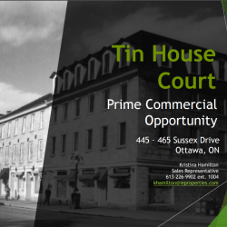 Tin House Court - Prime Commercial Opportunity
