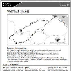 Wolf Trail (No. 62)