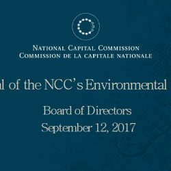 Renewal of the NCC's Environmental Strategy
