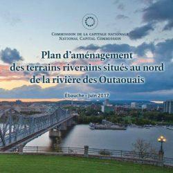 Plan d'aménagement des terrains riverains situés au nord de la rivière des Outaouais (Ébauche)