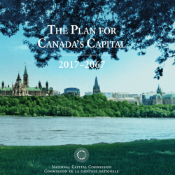 The Plan for Canada's Capital 2017 to 2067