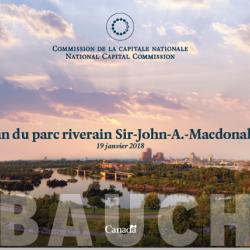 Plan du parc riverain Sir-John-A.-Macdonald (Ébauche)