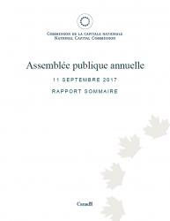 Assemblée publique annuelle - Rapport 2017