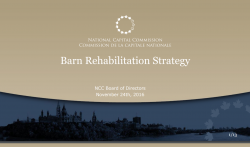 Barn Rehabilitation Strategy