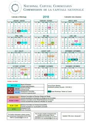 2018 NCC Calendar of Meetings