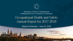 Occupational Health and Safety Report 2018