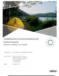 Étude de faisabilité aux terrains de camping du Lac Philippe