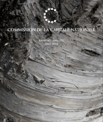 Commission de la capitale nationale - Rapport Annuel - 2015-2016
