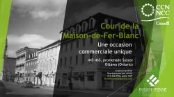 Cour de la Maison-de-Fer-Blanc - Une occasion commerciale unique