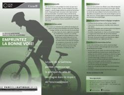 Empruntez la bonne voie! — Le vélo de montagne dans le parc de la Gatineau