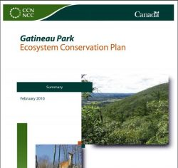 Gatineau Park Ecosystems Conservation Plan Summary
