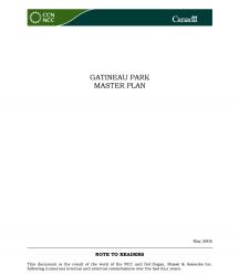 Gatineau Park Master Plan