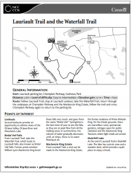 Lauriault Trail and the Waterfall Trail